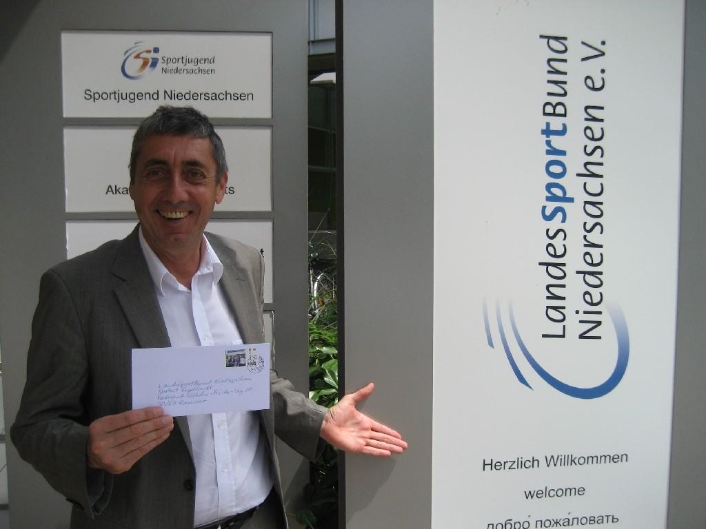 Norbert Engelhardt vom LandesSportBund (LSB) Niedersachsen