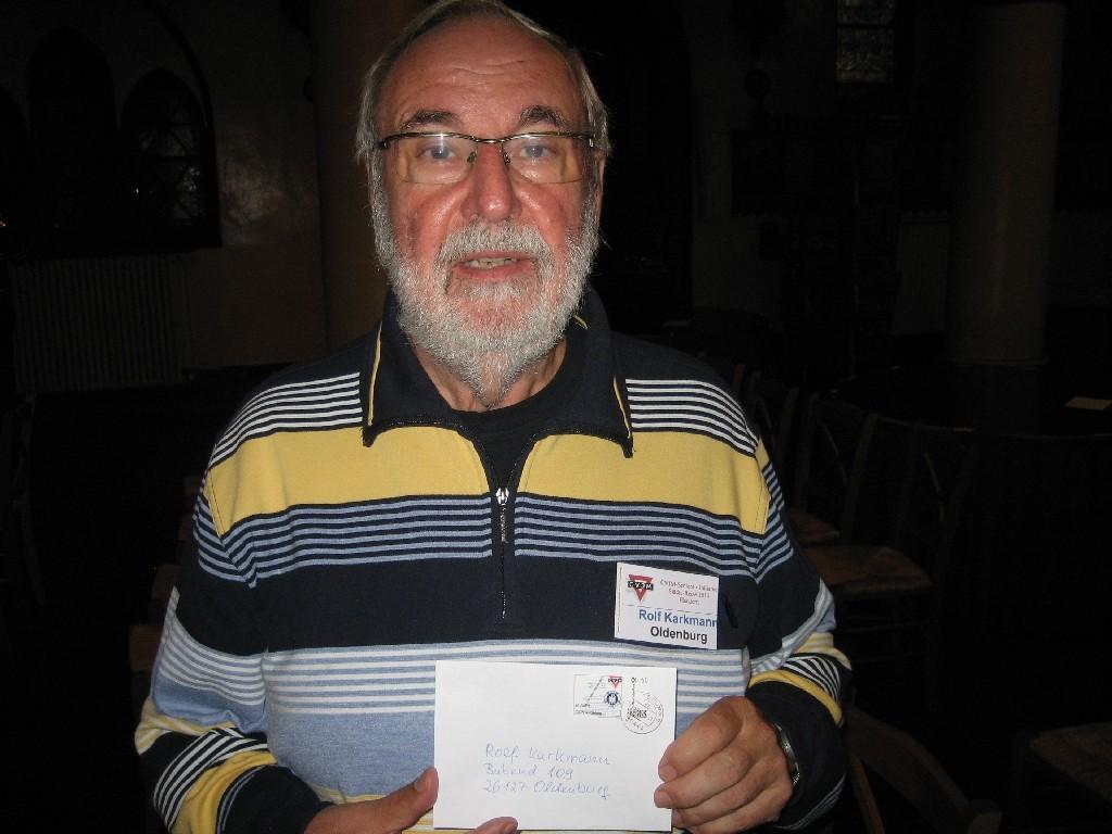 Rolf Karkmann von der CVJM-Senioren-Initiative