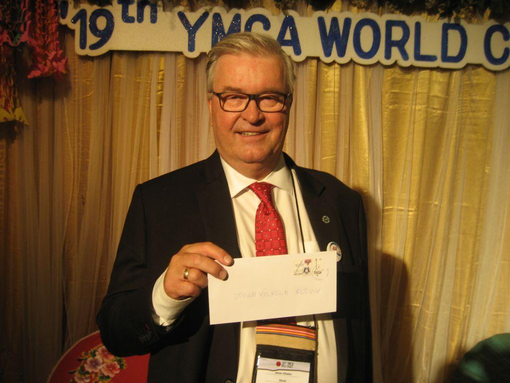 Johan Vilhelm Eltvik YMCA World Alliance