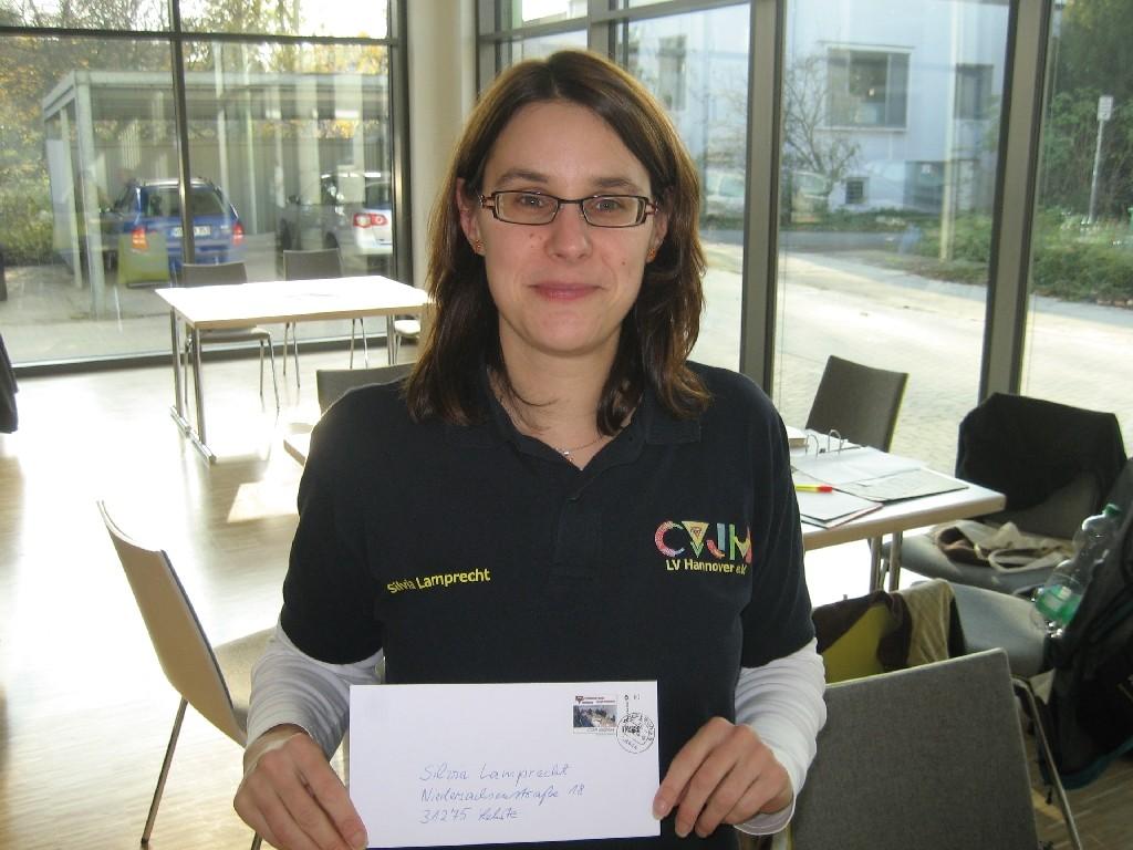 Silvia Lamprecht vom CVJM Landesverband Hannover