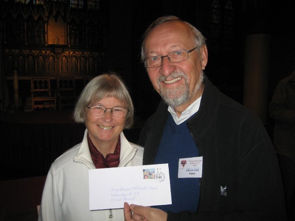 Brigitte und Albrecht Kaul von der CVJM-Senioren-Initiative