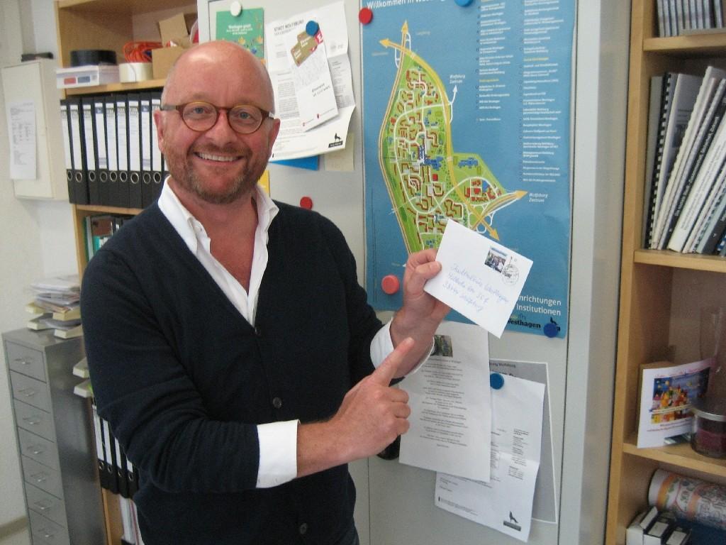 Marco Mehlin vom Stadtteilmanagement Westhagen