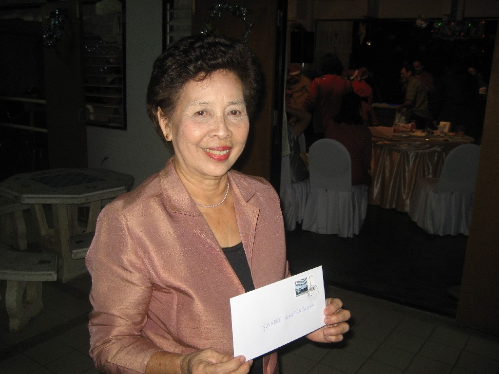 Yuvadee Kantakalung vom YMCA Chiang Mai und Y's Men's Club Chiang Mai