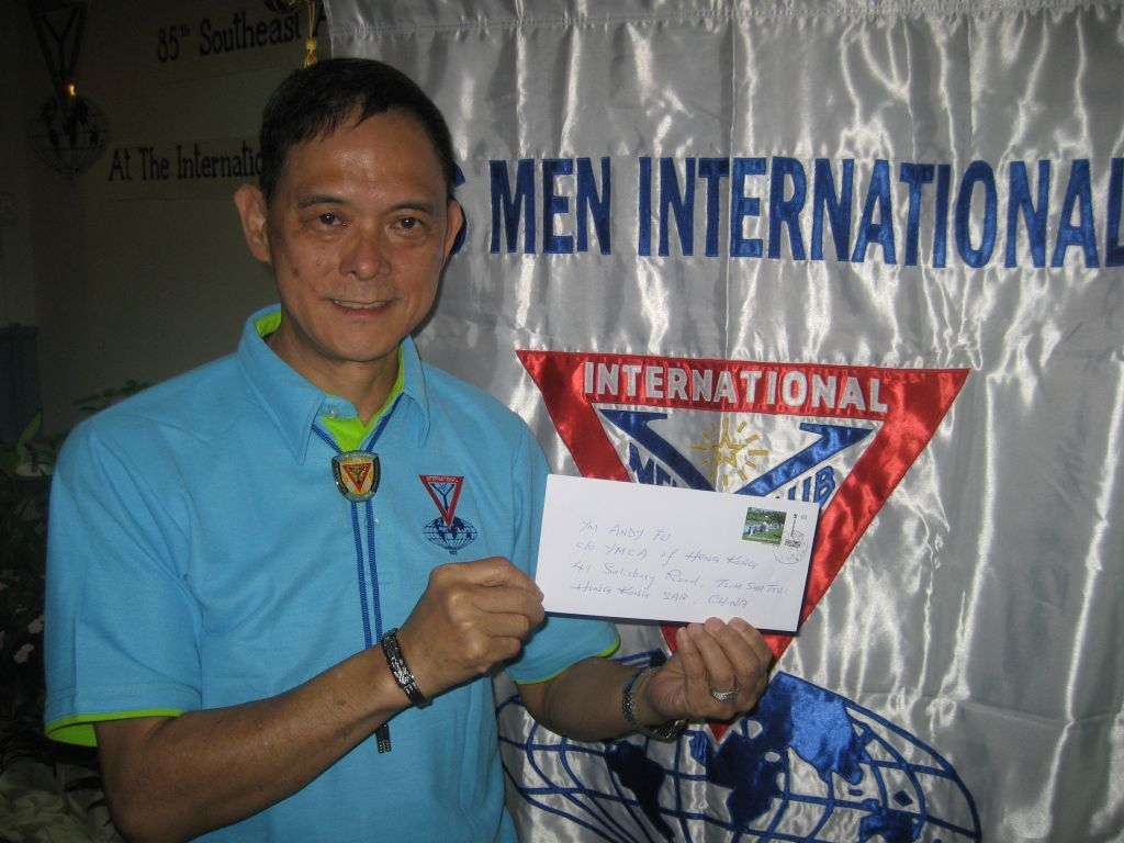 Andy Fu vom YMCA Hongkong