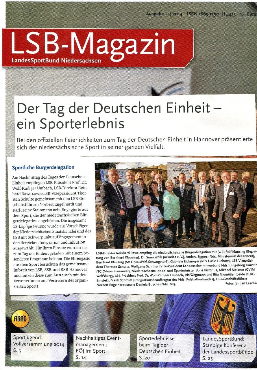 MMichael Meixner von der CVJM-Weltdienstgruppe mit Niedersachsens Innen- und Sportminister Boris Pistorius