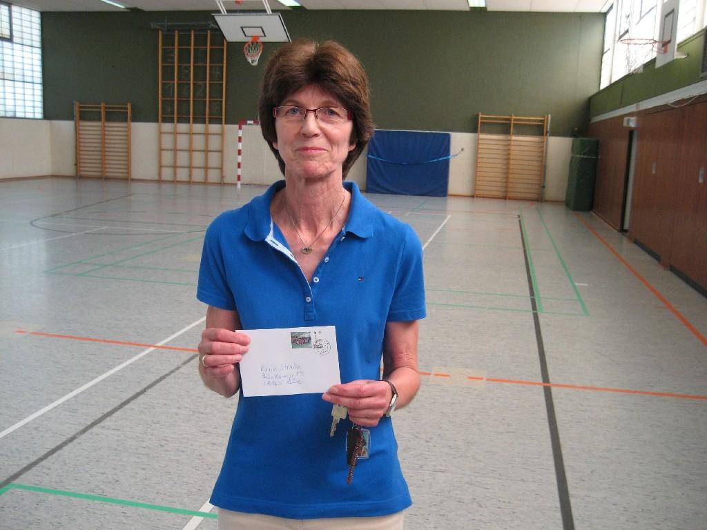 Karin Strake von der Hans-Christian-Andersen-Grundschule (Westhagener Pausenliga)
