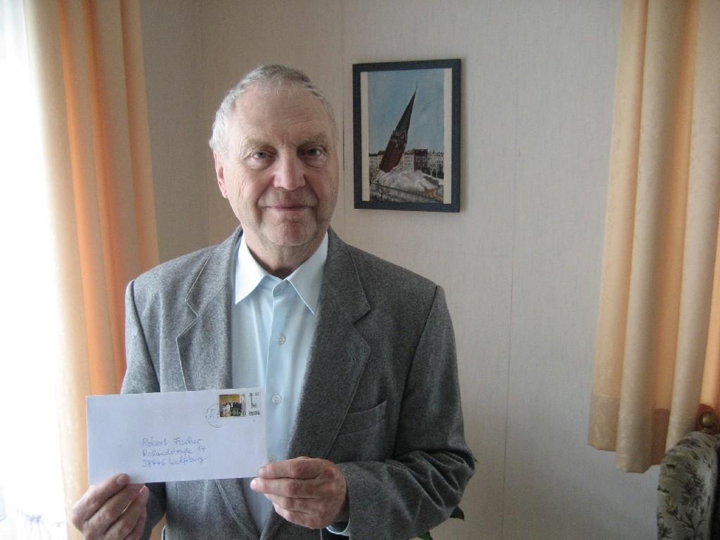 Robert Fischer von der CVJM-Weltdienstgruppe und von der Landsmannschaft der deutschen aus Russland