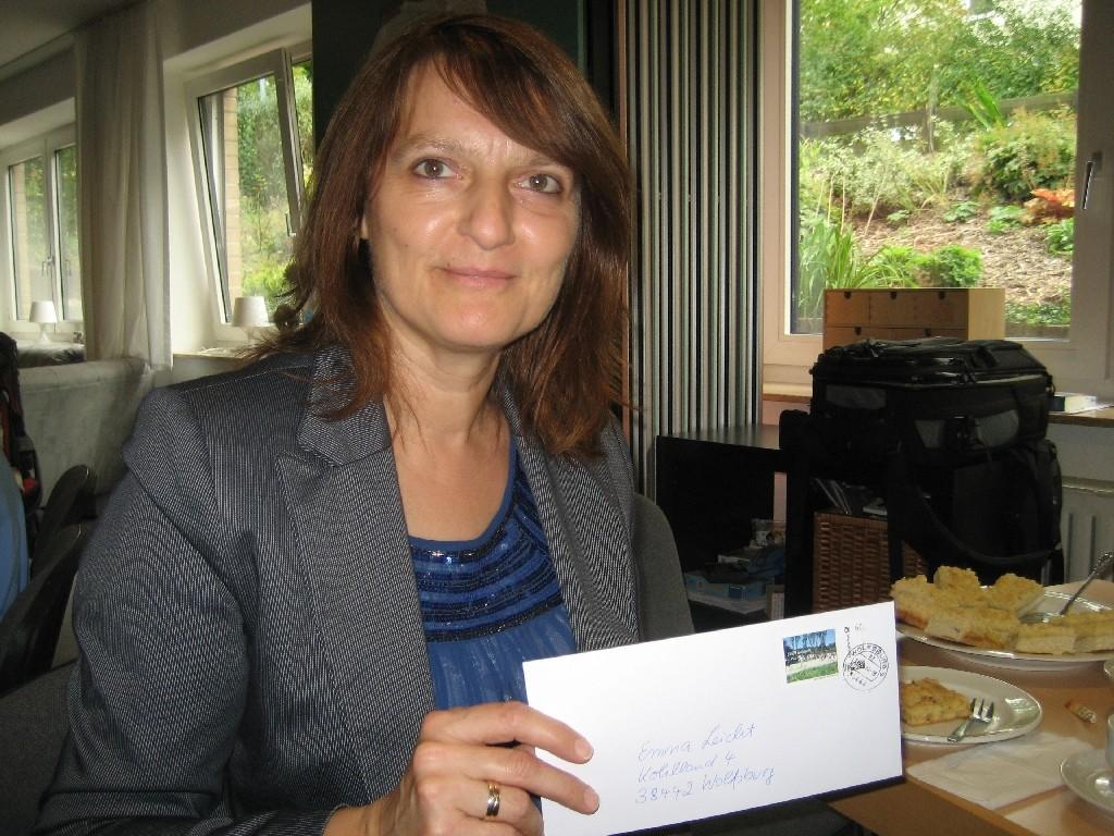 Emma Leicht für die Mitarbeit im CVJM-Vorstand