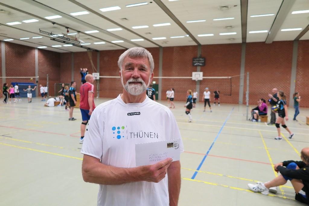 Klaus Klare vom Thünen-Insitut in braunschweig (ehemals Bundeslandwirtschaftsinstitut)