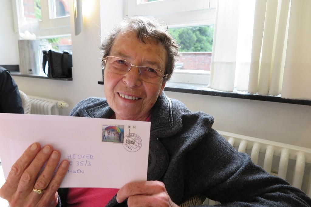 Gunhilde Hecker, Jahre lange Unterstützerin bei Fahrten des CVJM Wolfsburg nach in die Schule El Porvenir in Madrid/Spanien