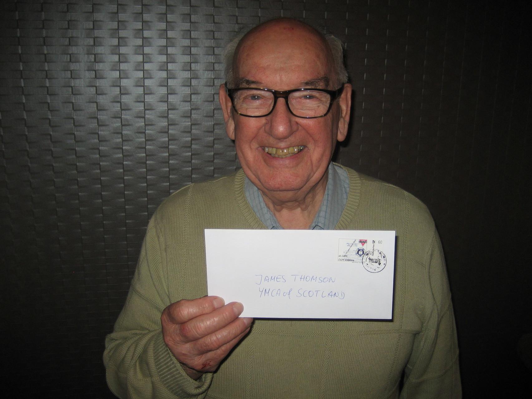 James Thomson vom YMCA Schottland und ehemals Mitarbeiter des CVJM Weltbundes