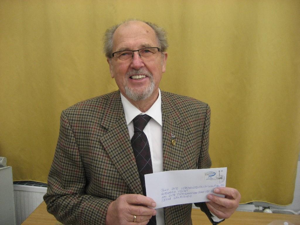 Gerhard Voigt vom Wolfsburger Bund der Vertriebenen