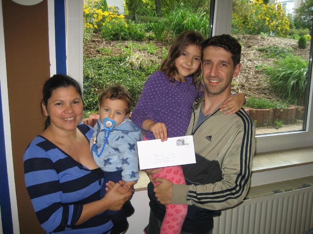 Familie Gedra vom CVJM-Familiennachmittag