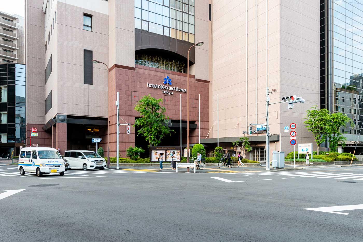 ホテル日航立川 東京(160m)