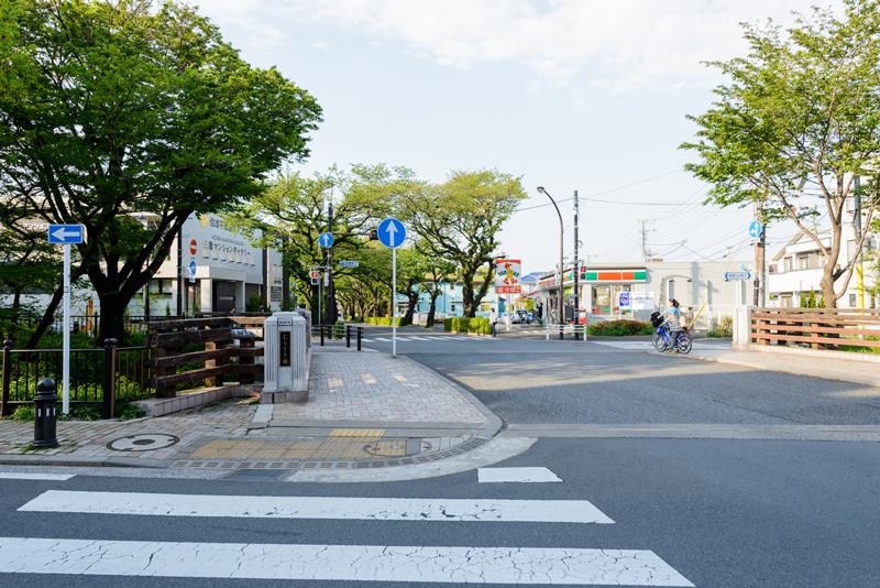 風の散歩道9(武蔵野市側)