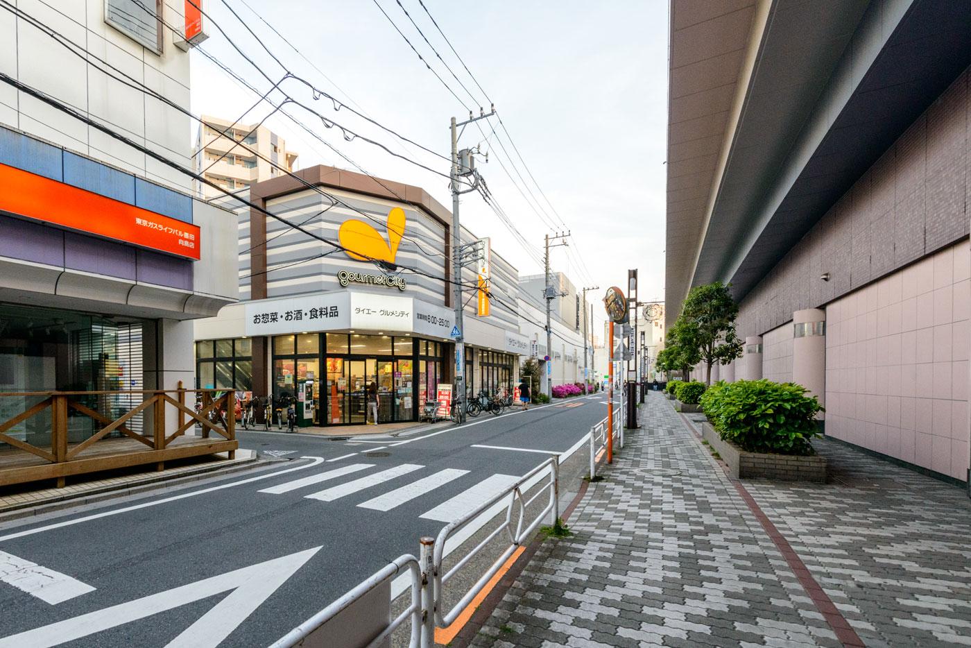 「東向島」駅2(ダイエーグルメシティ)