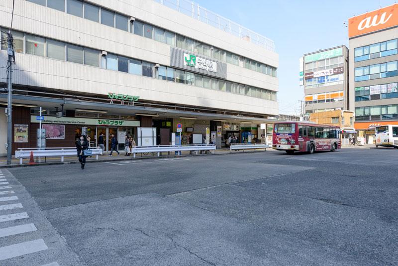 中野駅南口1 550m