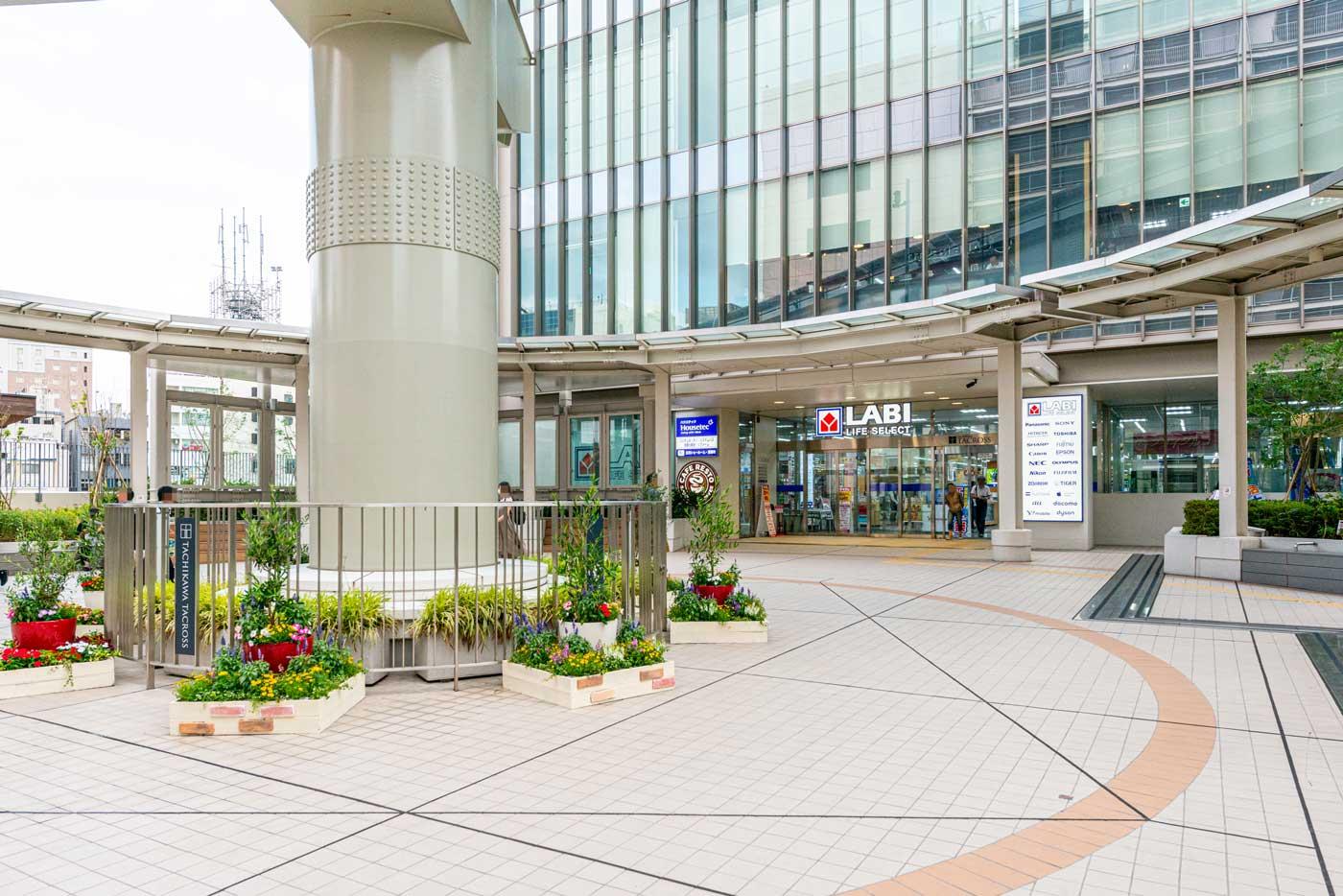ヤマダ電機(LABI LIFE SELECT 立川)立川駅北口