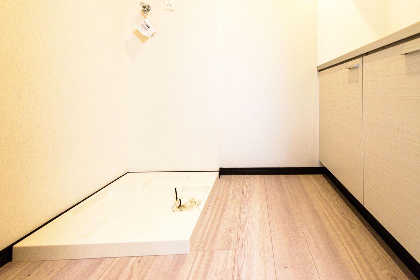 キッチン・洗濯機置場