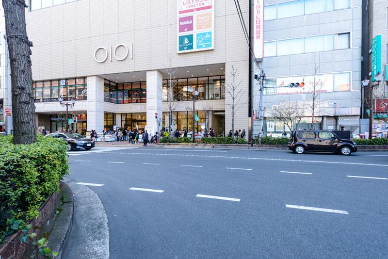 中野駅南口2(丸井) 350m