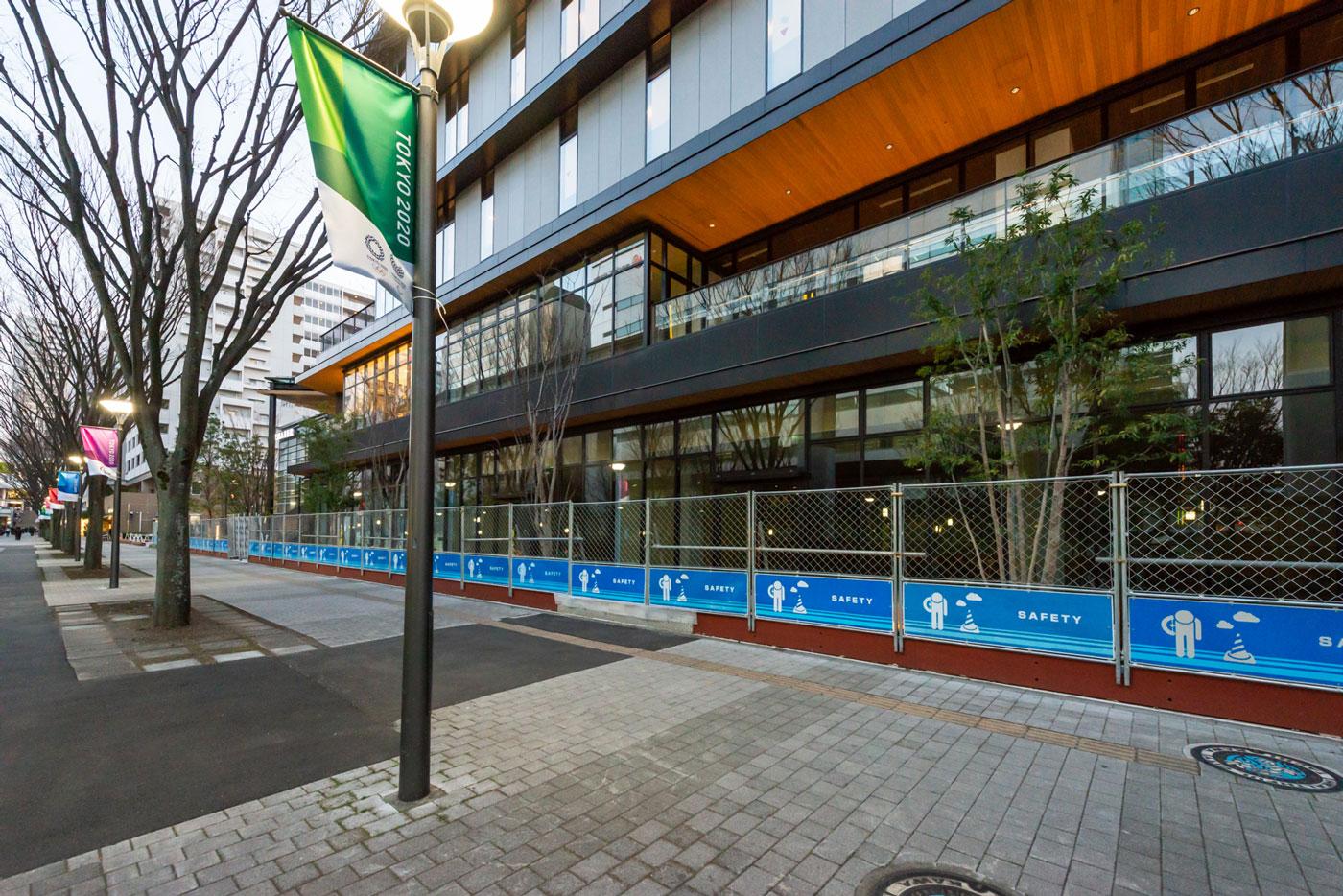駅北口に4月オープンする新街区4