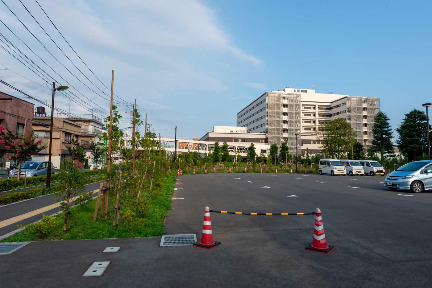 立川病院(500床)(290m)
