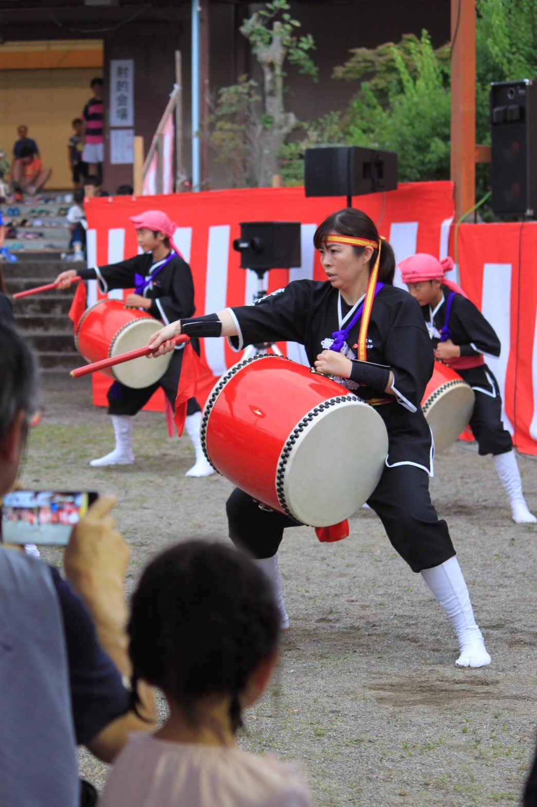 日野ホタル祭り! 昨年に続き2回目の出演です☆