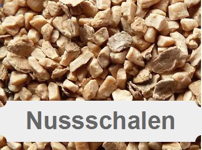Schalengranulat, Walnussstrahlmittel, Nussschalengranulat, Nussschale
