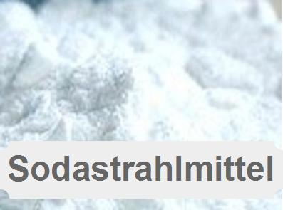 Sodastrahlmittel-Backpulverstrahlen