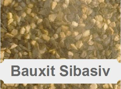Sibasiv, Bauxit, Strahlbauxit, Strahlmittel