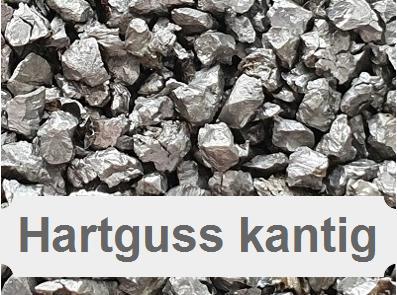 Hartguss, Stahlguss, Stahlstrahlmittel