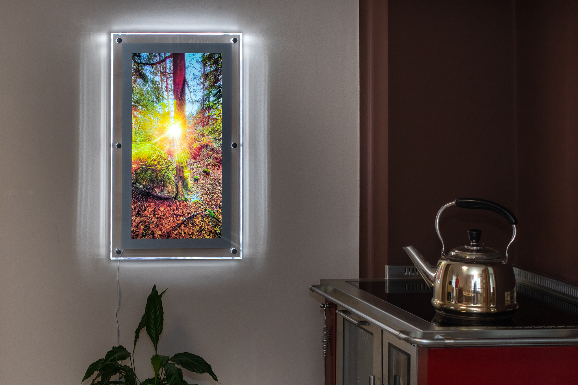 LED-Leuchtbilderrahmen Acryl - Motiv Nr. 106