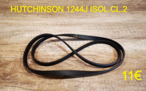 COURROIE LAVE-LINGE : HUTCHINSON 1244J ISOL.CL.2