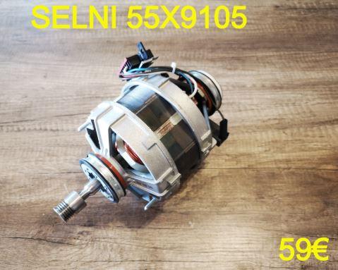 MOTEUR LAVE-LINGE : SELNI 55X9105