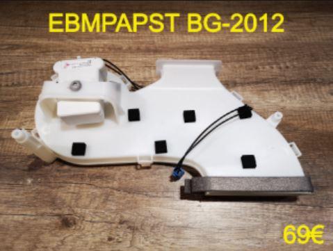 VENTILATEUR FRIGO : EBMPAPST BG-2012
