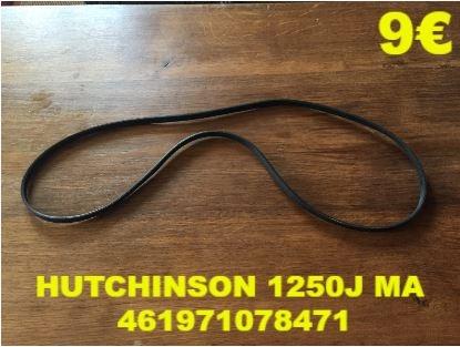 COURROIE LAVE-LINGE : HUTCHINSON 1250J MA 461971078471
