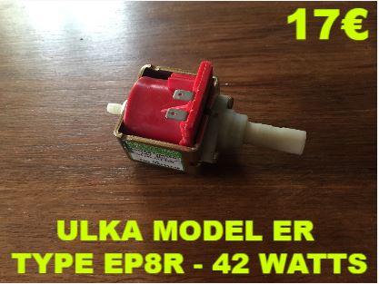 ELECTROPOMPE : ULKA MODEL ER TYPE EP8R - 42 WATTS