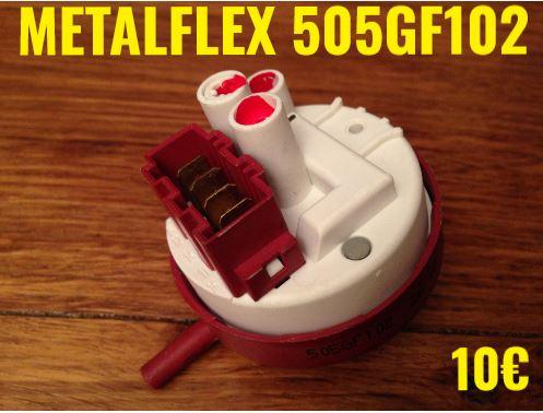 PRESSOSTAT : METALFLEX 505GF102