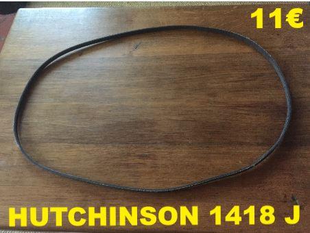COURROIE LAVE-LINGE : HUTCHINSON 1418J