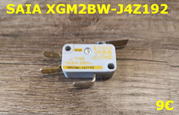 MICRO-SWITCH : SAIA XGM2BW-J4Z192