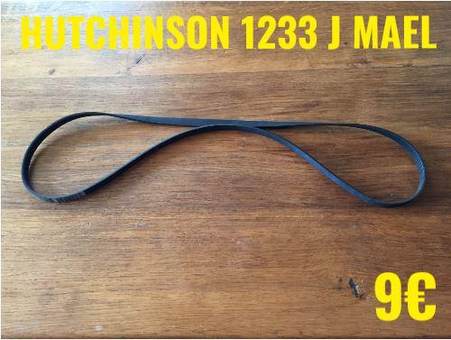 COURROIE LAVE-LINGE  : HUTCHINSON 1233 J MAEL