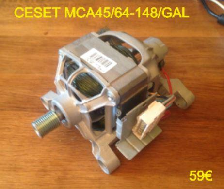 MOTEUR LAVE-LINGE : CESET MCA45/64-148/GAL