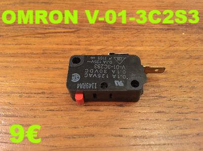 MICRO-SWITCH : OMRON V-01-3C2S3