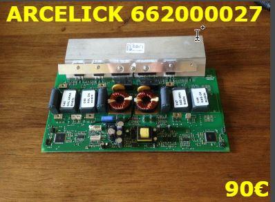 CARTE DE PUISSANCE PLAQUE VITROCÉRAMIQUE : ARCELICK 662000027
