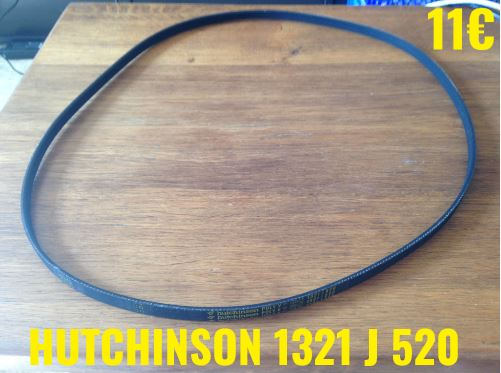 COURROIE LAVE-LINGE  : HUTCHINSON 1321J520