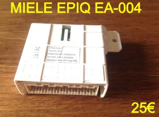 CARTE DE PUISSANCE LAVE-VAISSELLE : MIELE EPIQ EA-004
