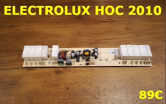 CARTE DE PUISSANCE PLAQUE VITROCÉRAMIQUE : ELECTROLUX HOC2010