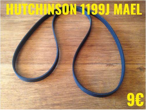 COURROIE LAVE-LINGE : HUTCHINSON 1199J MAEL