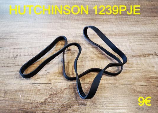 COURROIE LAVE-LINGE : HUTCHINSON 1239PJE