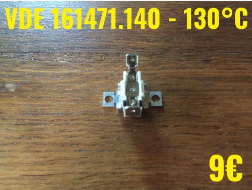 KLIXON : VDE 161471.140 - 130°C